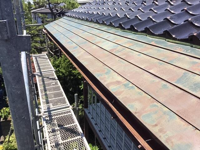 屋根の錆について