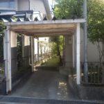 富山市I様邸 カーポート塗装 Befor→After